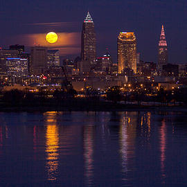 Cleveland Moonlight by J Allen